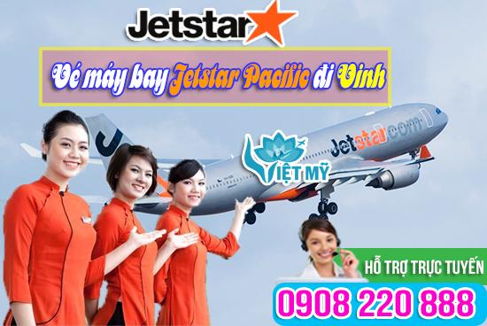 Giá vé máy bay Jetstar Pacific đi Vinh