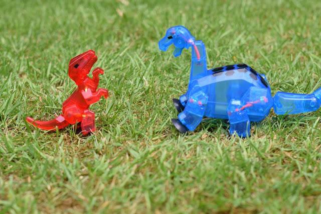 #Stikbot Mega Dino - StikBrontosaurus and velociraptor
