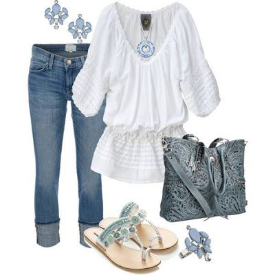 Кресьянская блузка