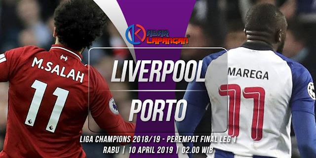 Prediksi Bola Liverpool vs Porto Liga Champions