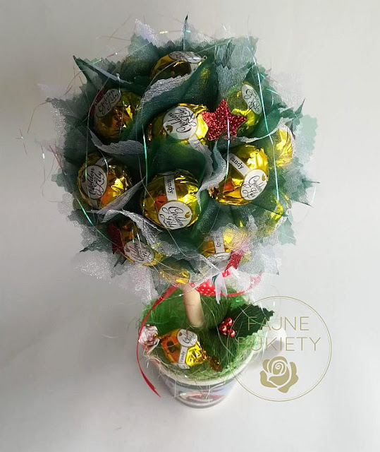 Stroik  cukierków na Boże Narodzenie