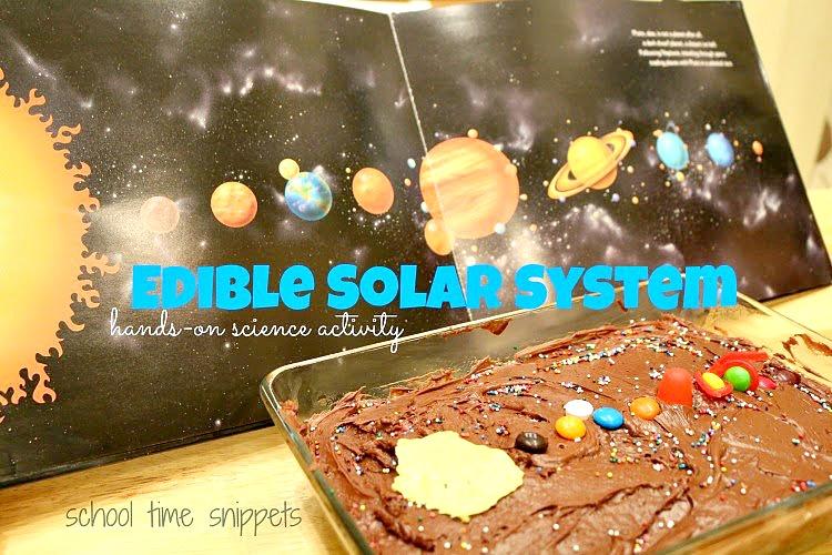 Edible Solar System Model