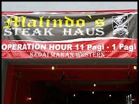 Malindo's Steak Haus Kedai Western Murah Ampang