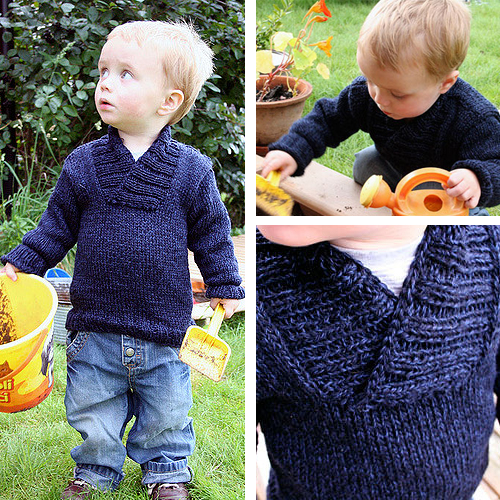 Oh, Handsome Winter-Sweater - Free Pattern
