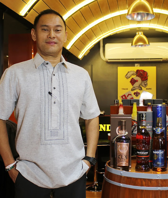 Bong Tan : Every Bottle of Tanduay is Made from Green Intentions
