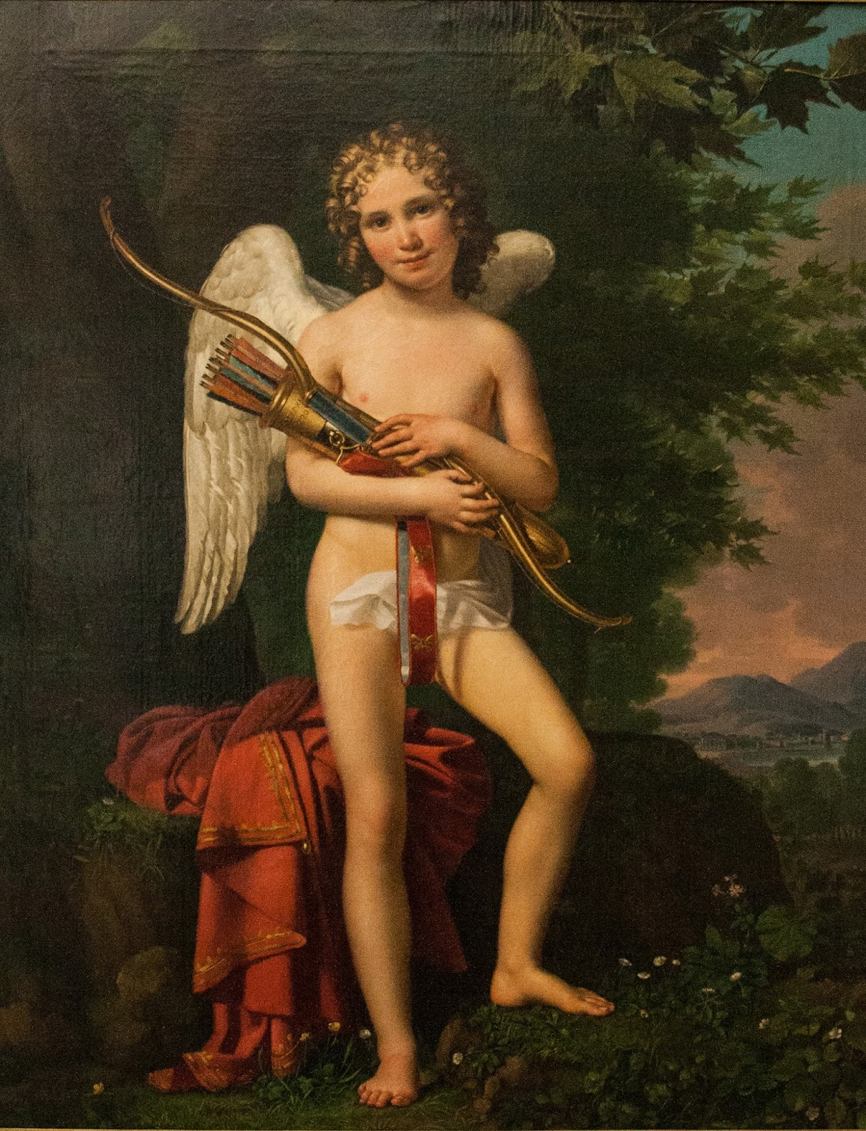 greek god cupid or eros