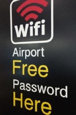 Wifi Area Fasilitas Bandara Soekarno Hatta