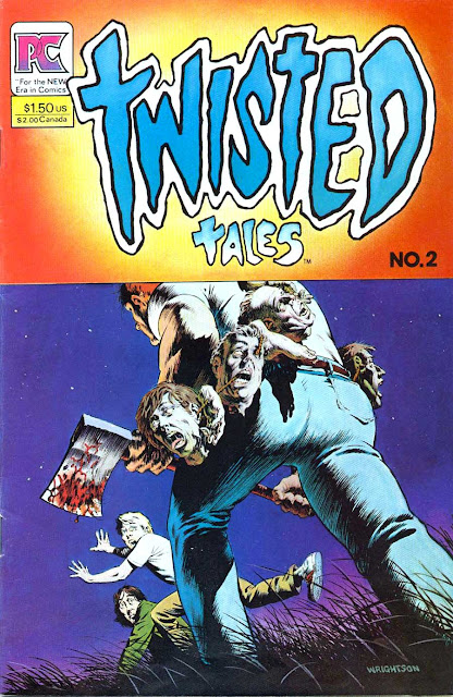 Twisted Tales v1 #2 - Bernie Wrightson 1980s horror comic book cover art