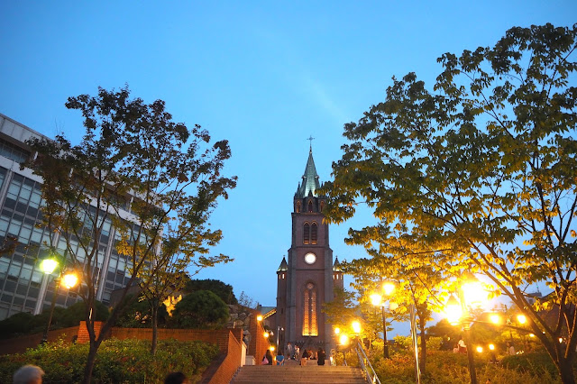Myeongdong Cathedral in South Korea