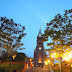 Myeongdong Cathedral in South Korea is hauntingly romantic. History says it's part of a gothic revival architecture.