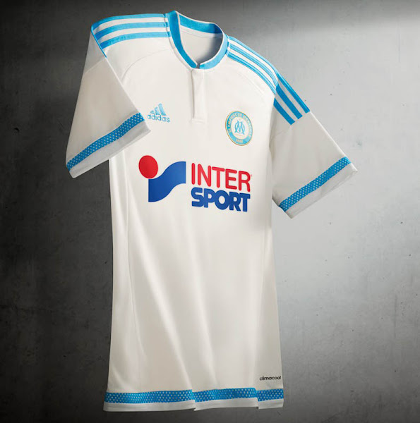 f0eb384399d Olympique Marseille 15-16 Kits Revealed - Footy Headlines