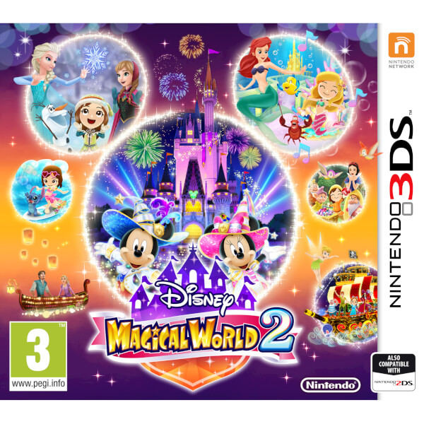 Disney Game, Nintendo 3DS, Disney Magical World 2