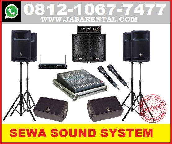 SEWA SOUND SYSTEM JAKARTA