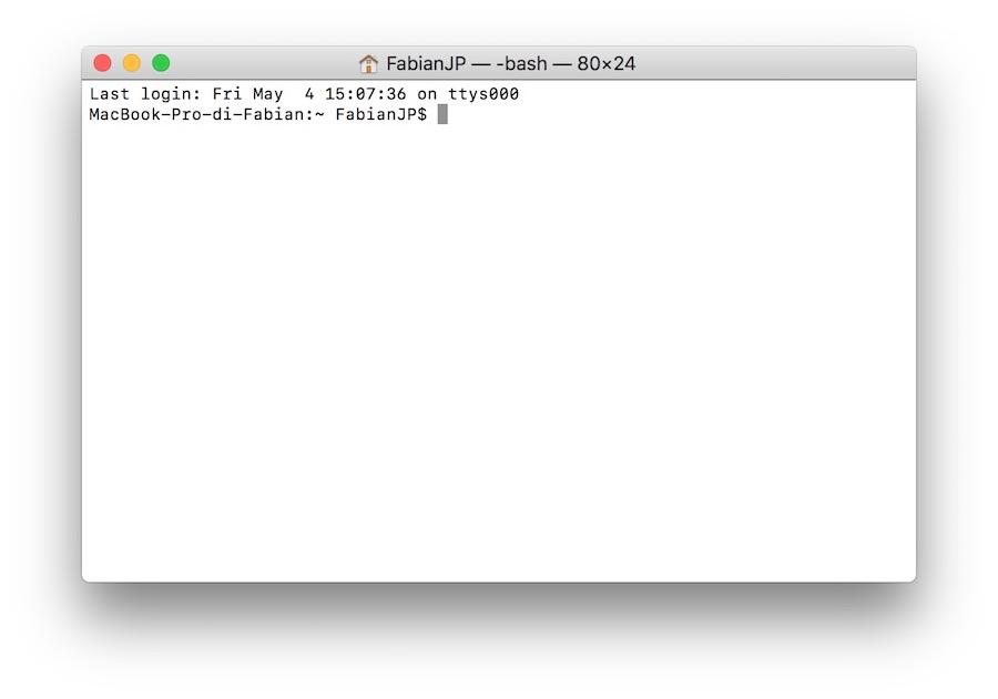 come usare terminale Mac per rintracciare indirizzo IP modem