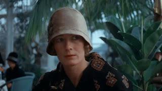 Харрогит, зимний сад в Королевских ваннах. Кадр из фильма Агата Agatha (1979)