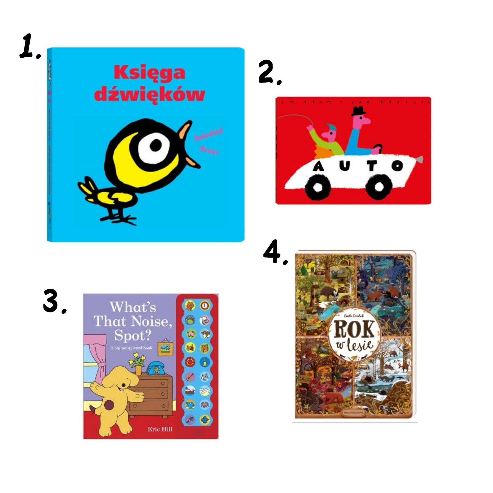 Książki dla rocznego dziecka