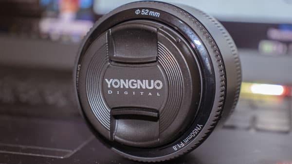 تعرف على عدسة Yongnuo 50mm f/1.8 ارخص عدسات كانون
