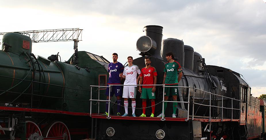 Lokomotive Moskau Aufstellung