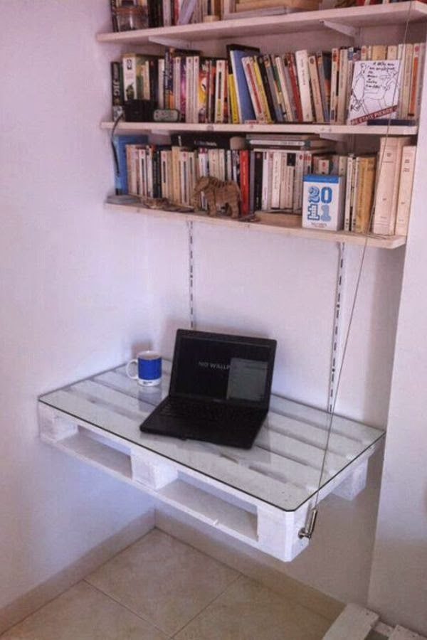 Do It Yourself Home Design: 19 DIY Pallet Desks To Customize Your Home Office