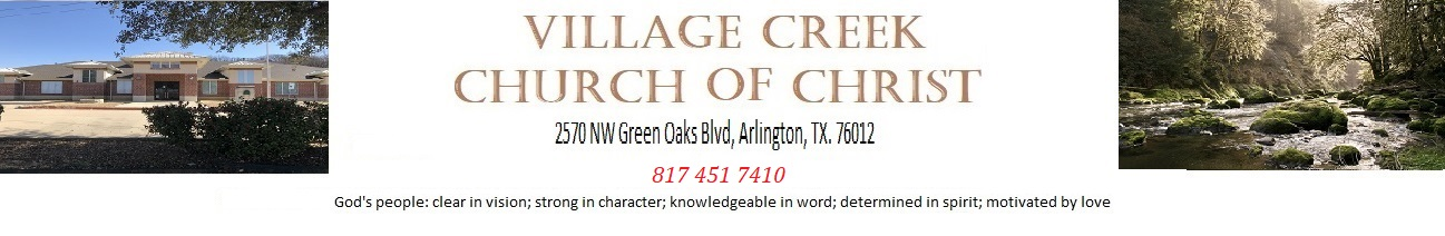 Village Creek Church of Christ