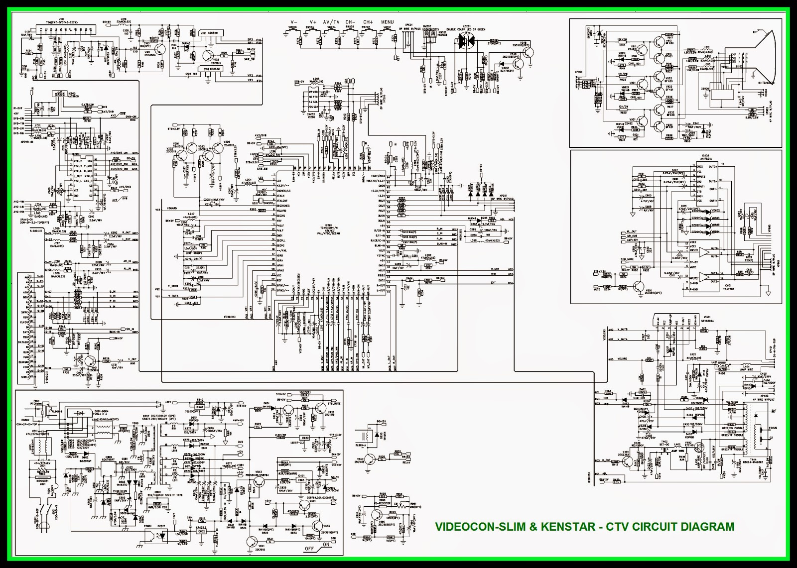 videocon tv circuit diagram model no circuit diagram images. Black Bedroom Furniture Sets. Home Design Ideas