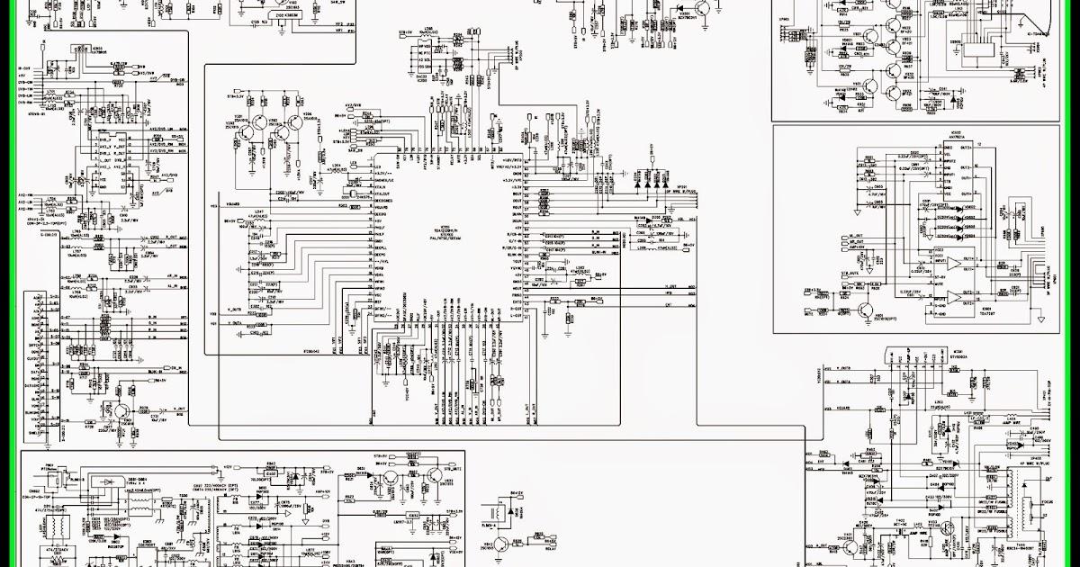 Electro help: KENSTAR  VIDEOCONSlim  CTV CIRCUIT DIAGRAM