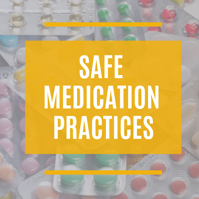 Safe Medication Practices At Home