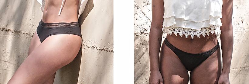 Modelos da calcinha absorvente auxílio para mulher viajante - Herself - Foto: Divulgação