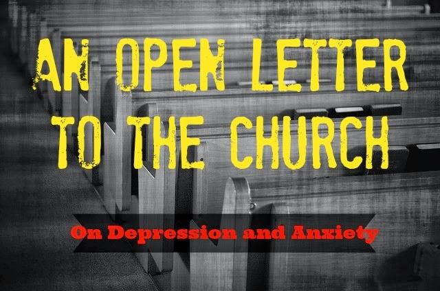 depression, anxiety, church