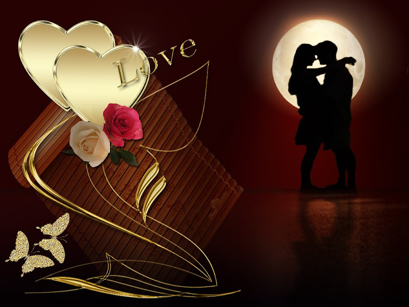 Valentine Couple Love Wallpaper 2012 FREE HD title=