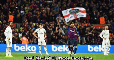 Real Madrid Di Teror Barcelona