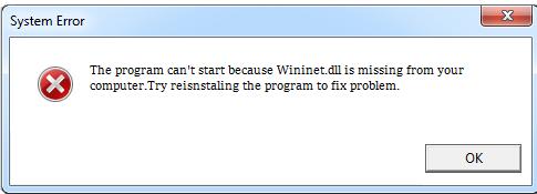 Télécharger Wininet.dll Fichier Gratuit Installer