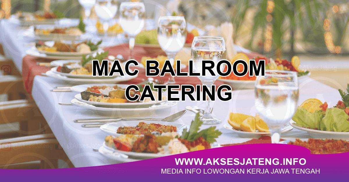 Mac Ballroom Catering Semarang