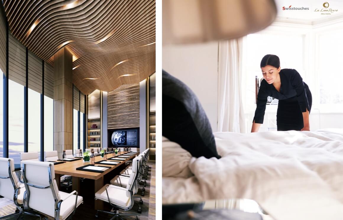 La Luna Resort được quản lý vận hành chuyên nghiệp