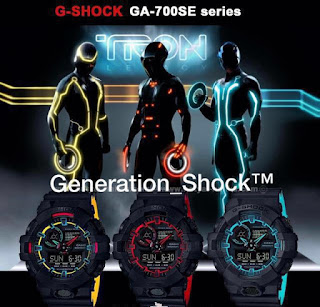 Jual Jam Tangan G Shock Tron Legacy Edition
