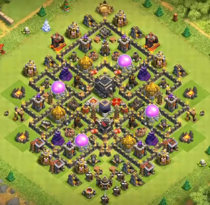 20 best town hall 9 base design for 2018
