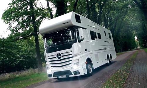 Mercedes Vario Alkoven 1200 - nhà di động bậc nhất