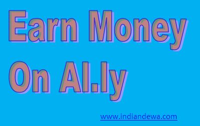 Earn money on Al.ly Short link