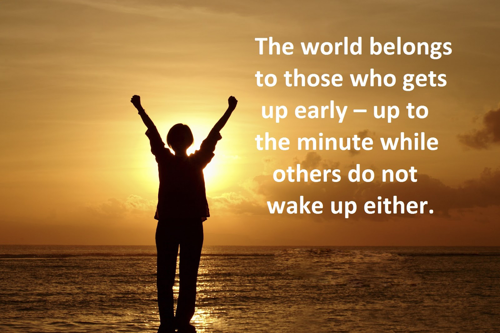 some people prefer get up early Some people prefer to get up early in the morning to start the day's work while other people like to get up later in the day to work until late at night.