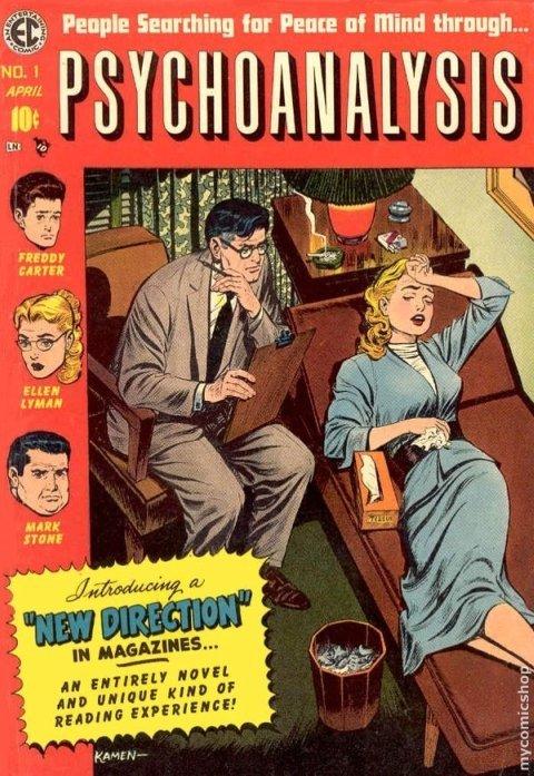 psihanaliza benzi desenate