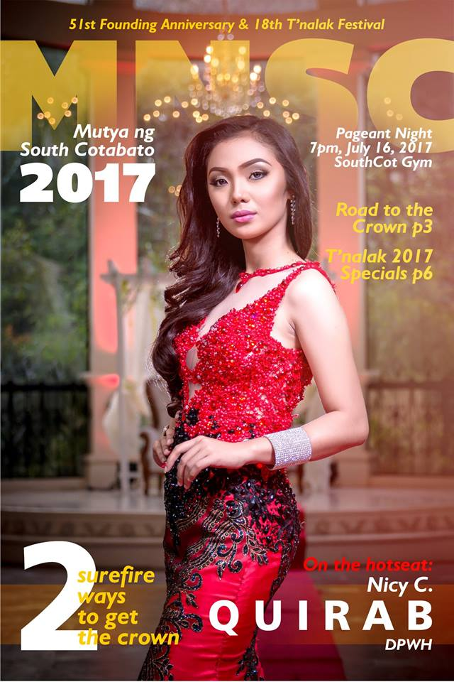 Mutya ng South Cotabato 2017 candidate