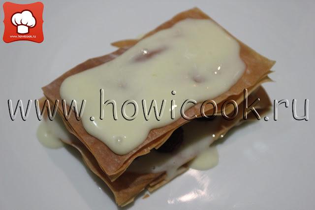 рецепт пирожного мильфей с пошаговыми фото