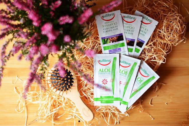 Aloesowe produkty od Equilibra - szampon i odżywka restrukturyzująca