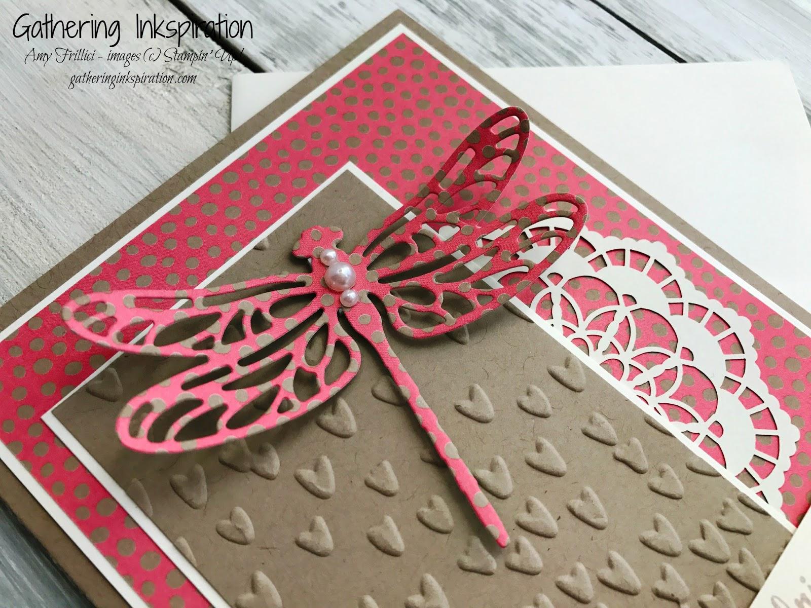 Gathering Inkspiration: Stampin\' Up! Dragonfly Dreams