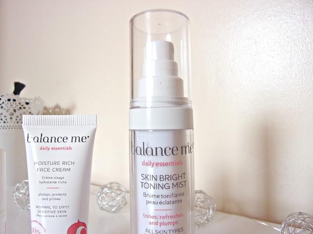 Balance Me Skin Bright Toning Mist