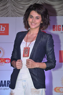 Taapsee At Big Bazaar Festive Collection Launch (2).JPG