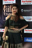 Ritika Singh in a Ethnic Deep Neck Dark Green Choli Ghagra at IIFA Utsavam Awards March 2017 ~ 054.JPG