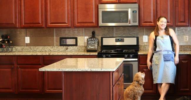 how to install an easy backsplash without a wet saw diy danielle