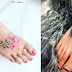 Elegant foot tattoo designs