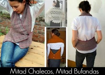 Mitad Chalecos, Mitad Bufandas de Moda